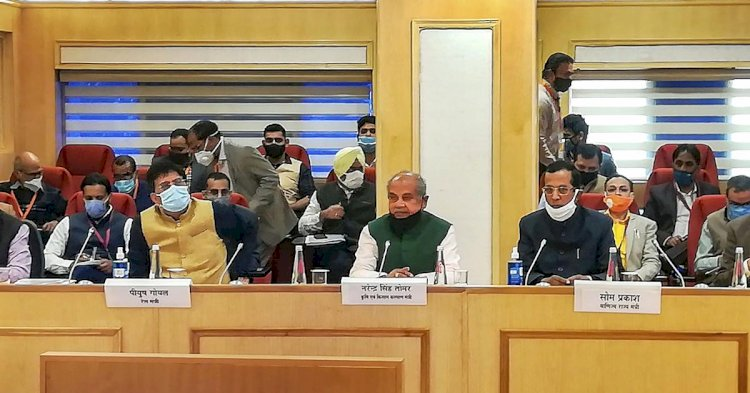 Meeting Ended without any breakthrough, Famers to Wait for Next Round of Talks with Centre...